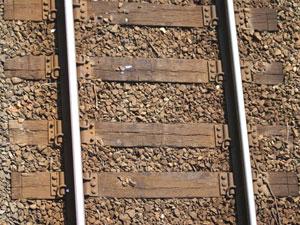 鉄道の枕木